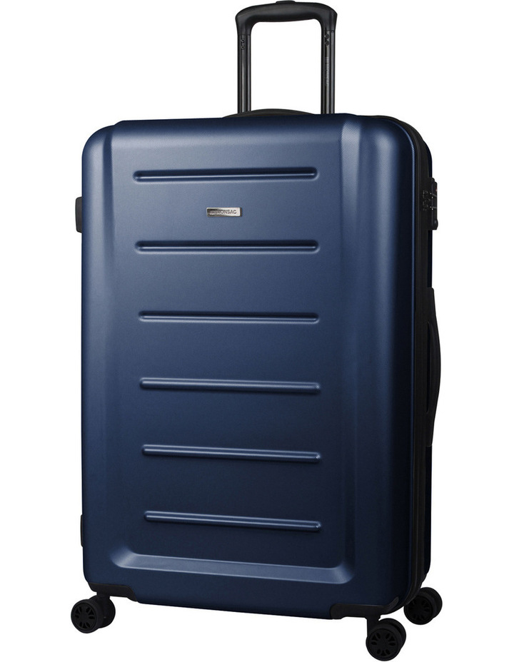 Orbit 2 piece hardside suitcase set - navy image 1