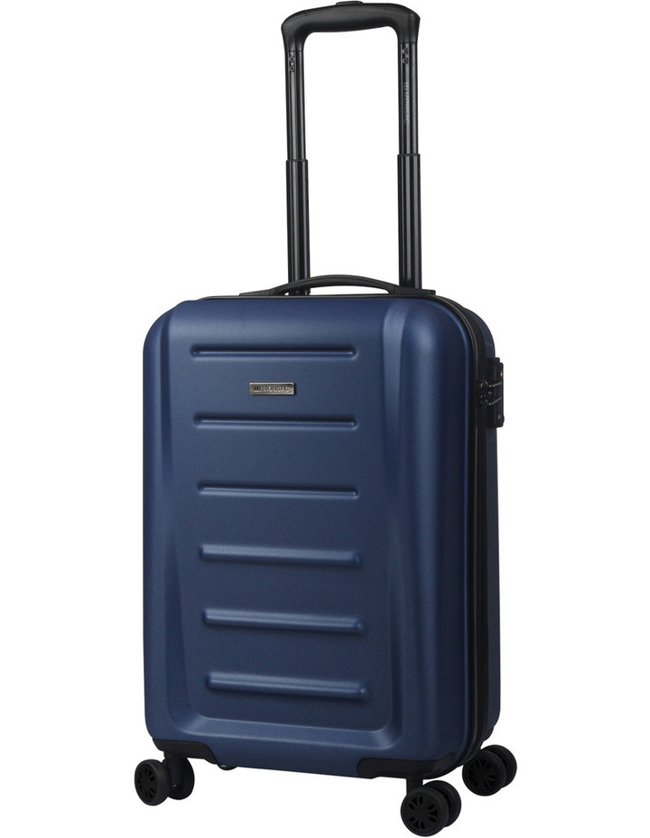 Orbit 2 piece hardside suitcase set - navy image 2