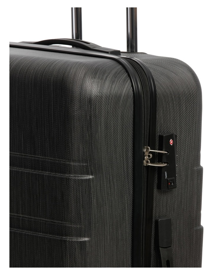 Metro 2 Piece Hardside Spinner Large & Cabin Set with Bonus Accessory Case - Charcoal image 5