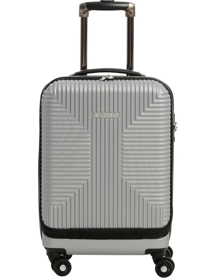 Business Cabin Carry on with Bonus 7 Piece Travel Accessory Pack - Steel image 1
