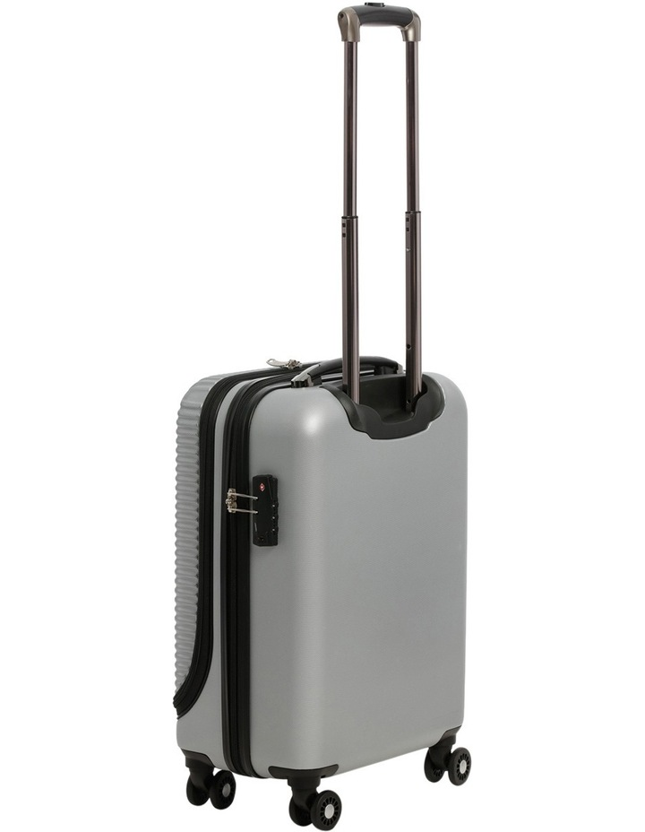 Business Cabin Carry on with Bonus 7 Piece Travel Accessory Pack - Steel image 2