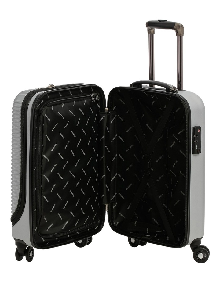 Business Cabin Carry on with Bonus 7 Piece Travel Accessory Pack - Steel image 3