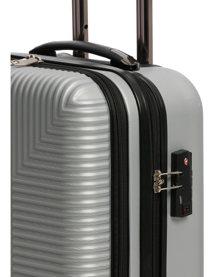 Business Cabin Carry on with Bonus 7 Piece Travel Accessory Pack - Steel image 5