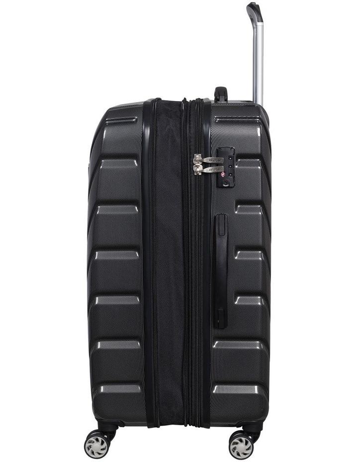 Barcelona Dot Hardside Case 80.5cm/ 5kg Charcoal image 5