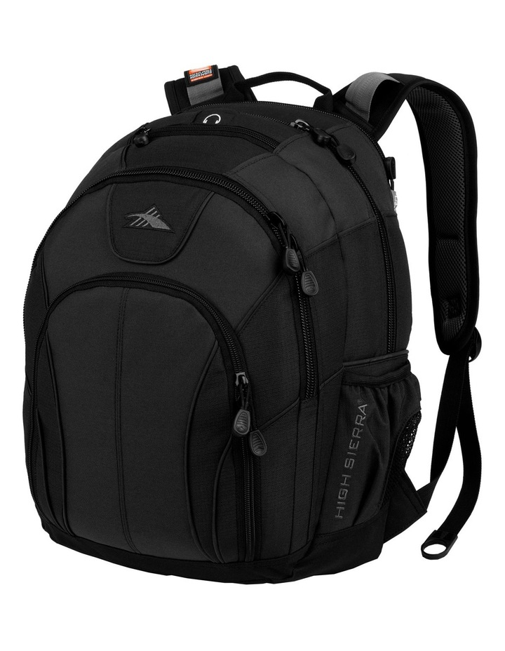 Academic Laptop Backpack Black image 1