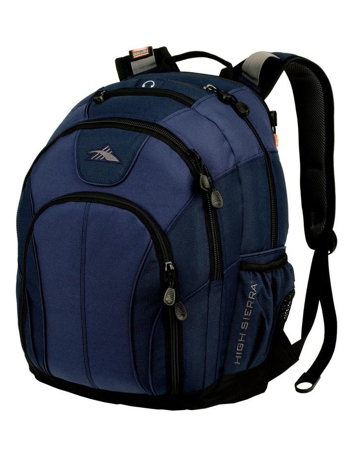 Academic Laptop Backpack Navy image 1