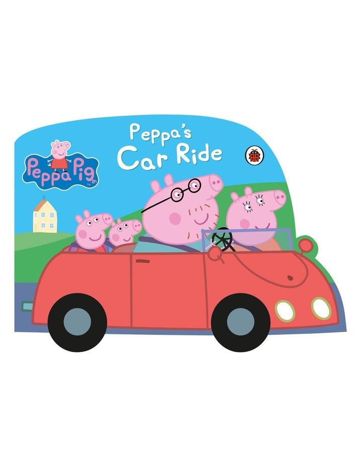Peppa Pig: Peppa's Car Ride (hardback) image 1