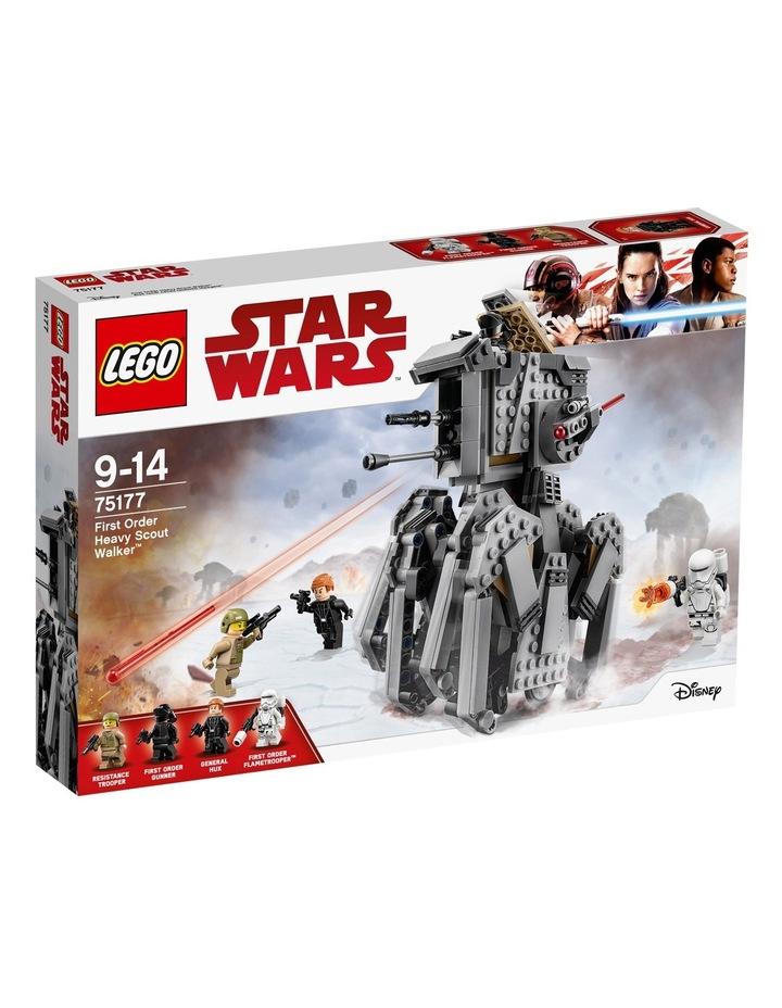 Star Wars First Order Heavy Scout Walker 75177 image 1