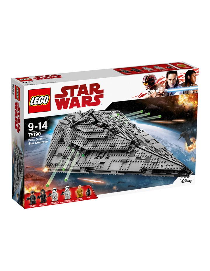 Star Wars First Order Star Destroyer 75190 image 1