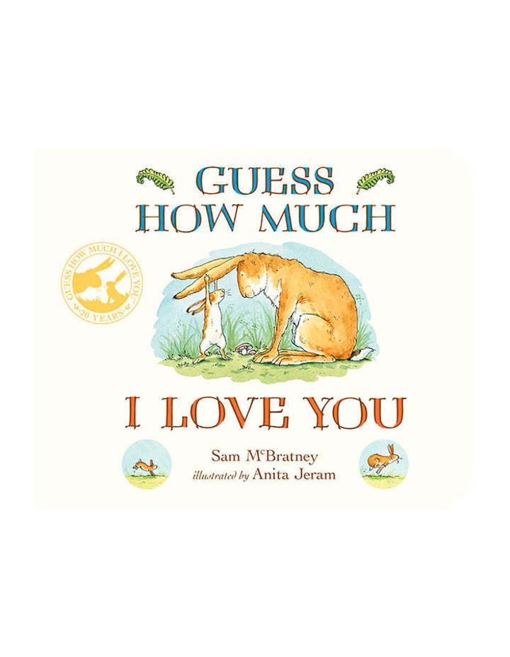 Guess How Much I Love You Board Book written by Sam Mc Bratney and illustrated Anita Jeram (harback) image 1