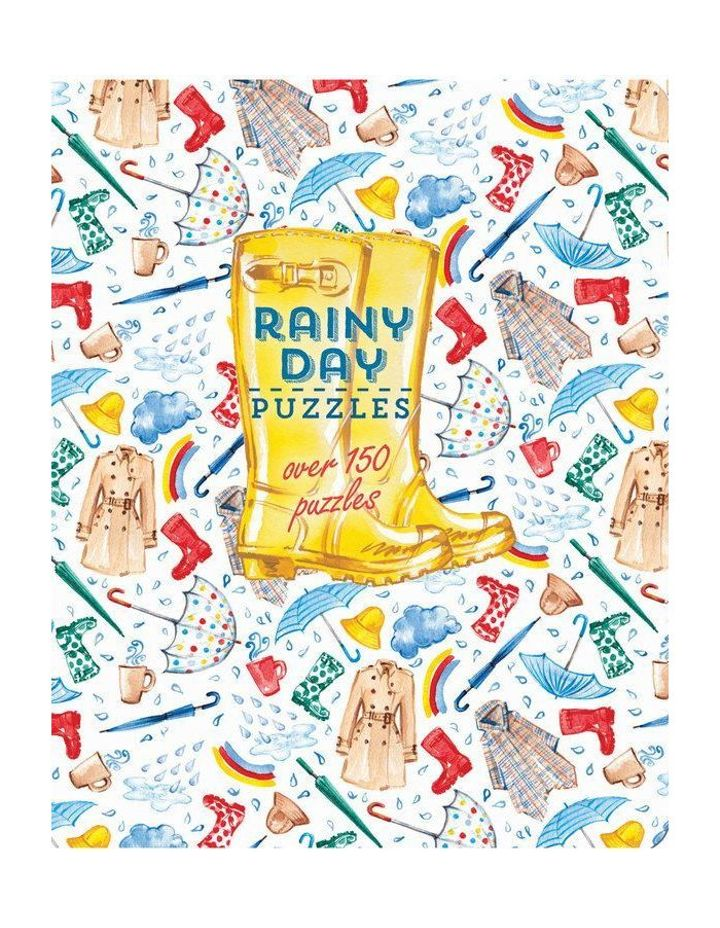 Rainy Day Puzzles (paperback)