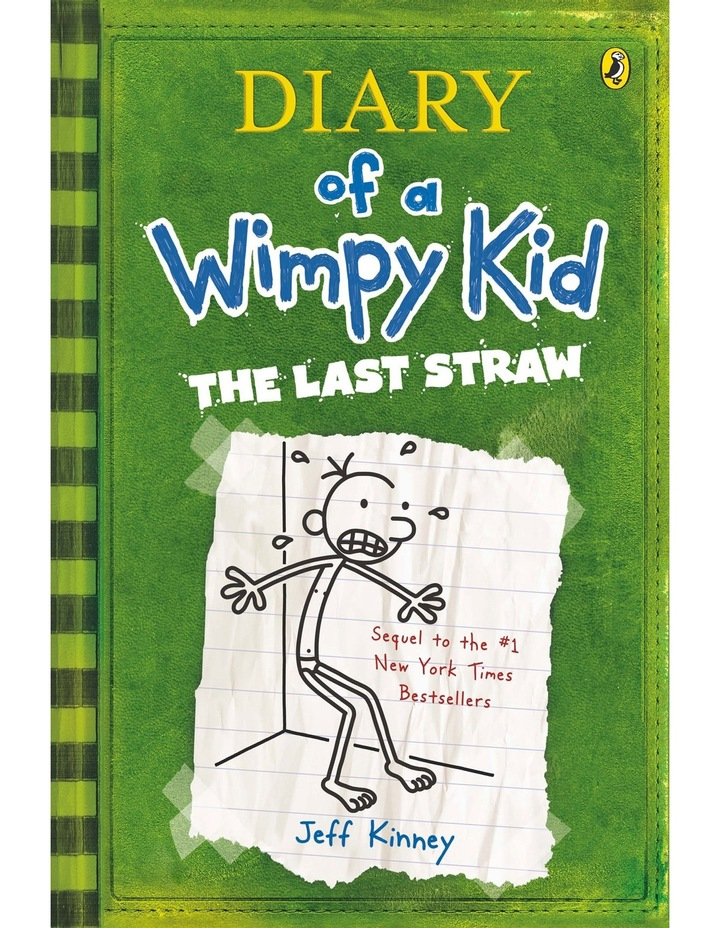 The Last Straw: Diary of a Wimpy Kid: Book 3 by Jeff Kinney (paperback) image 1