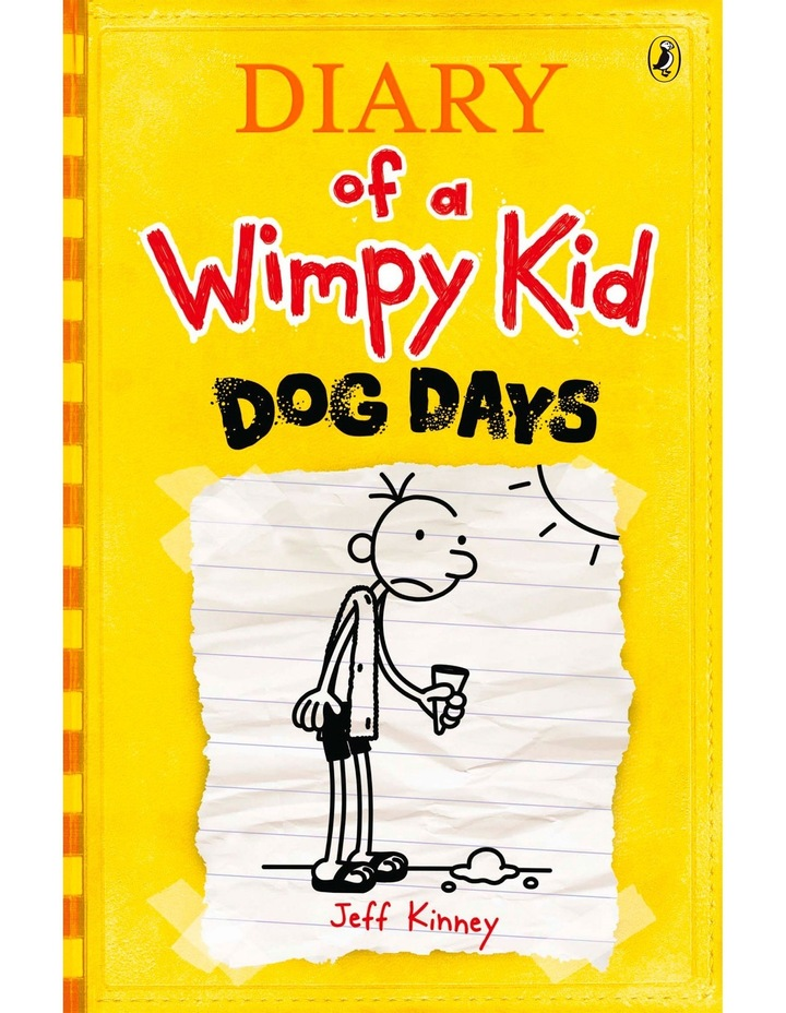 Dog Days: Diary of a Wimpy Kid: Book 4 by Jeff Kinney (paperback) image 1