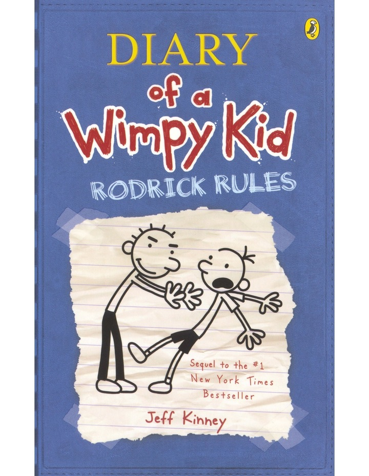 Rodrick Rules: Diary of a Wimpy Kid: Book 2 by Jeff Kinney (paperback) image 1