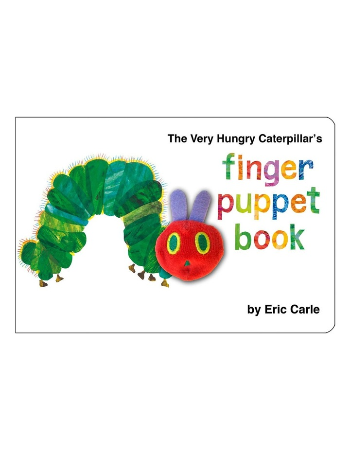 The Very Hungry Caterpillar's Finger Puppet Book by Eric Carle (hardback) image 1