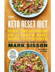 The Keto Reset Diet  By Sisson Mark (Paperback)