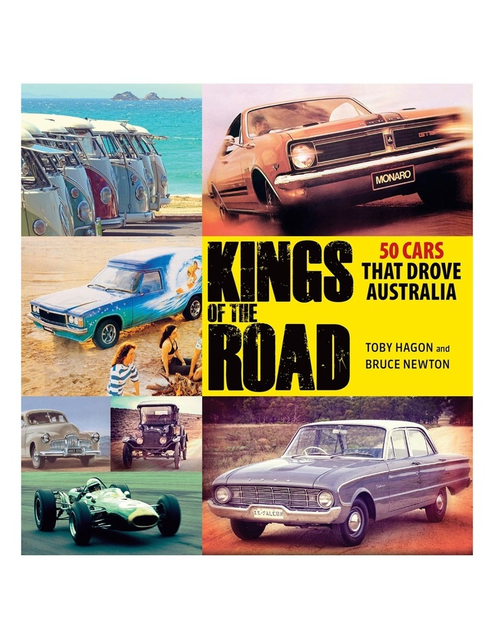 Kings Of The Road By Toby Hagon (hardback) image 1