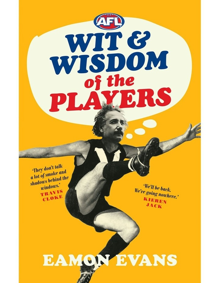 AFL Wit and Wisdom of the Players image 1
