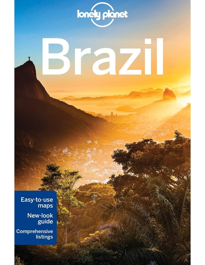 Lonely Planet Brazil Travel Guide 10th Edition (paperback) image 1