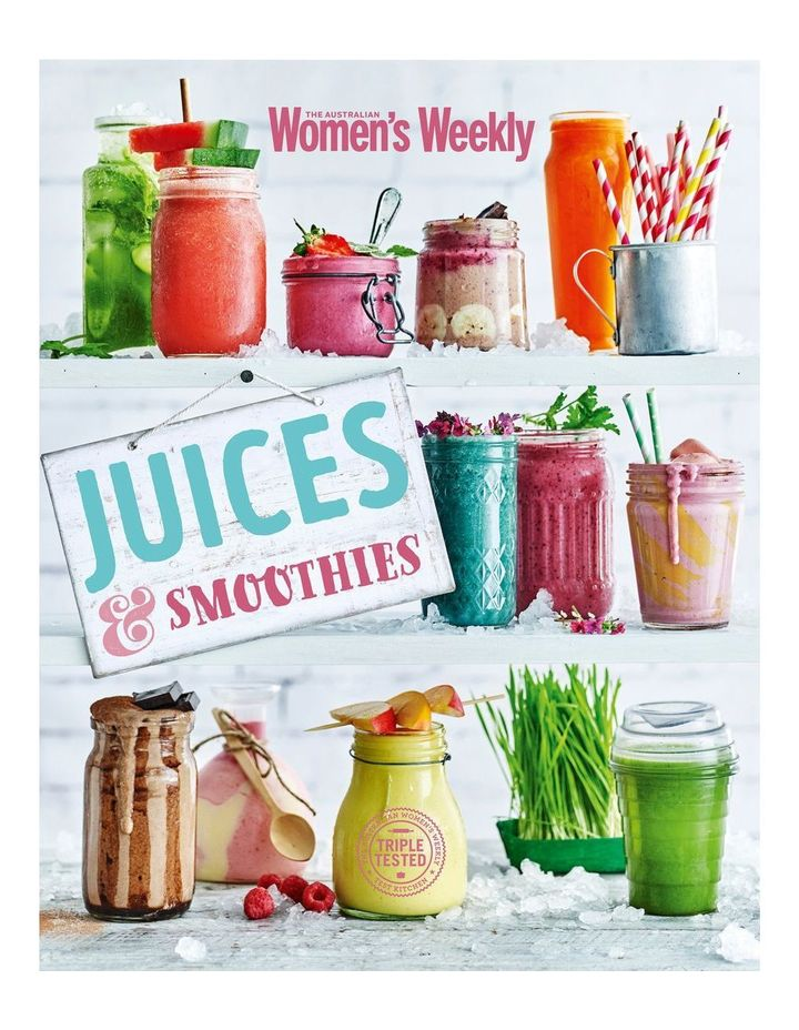 Juices & Smoothies by The Australian Women's Weekly (paperback) image 1