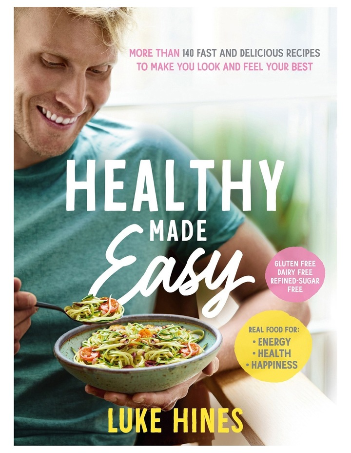 Healthy Made Easy by Luke Hines (paperback) image 2