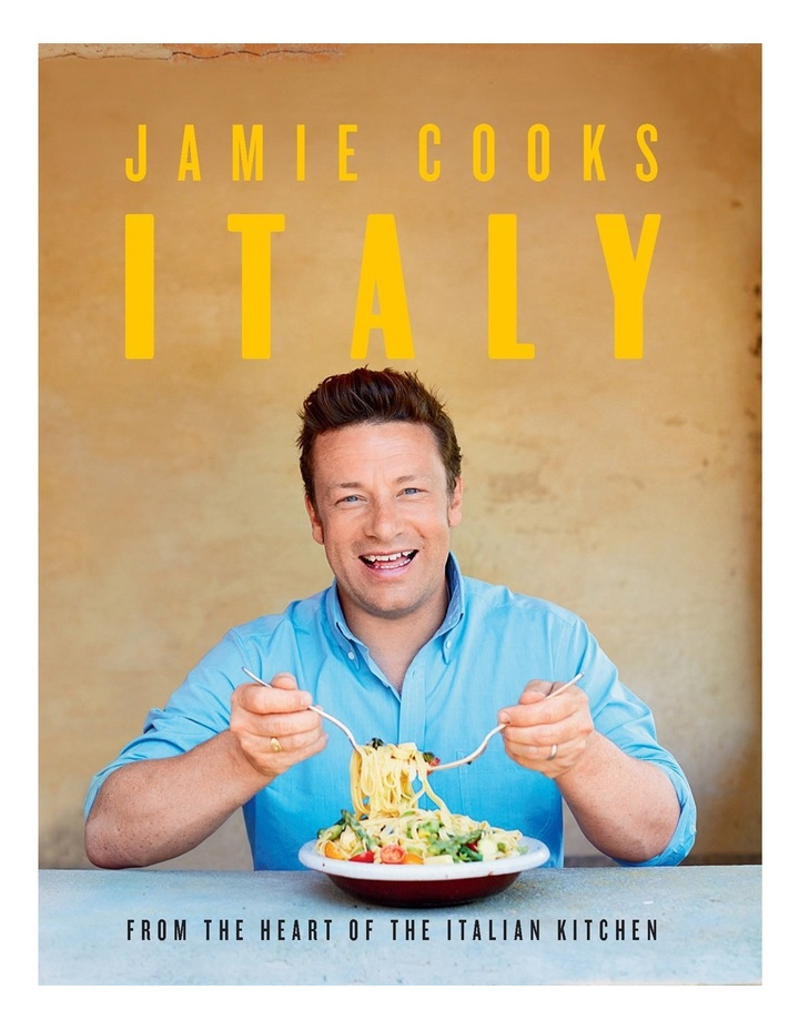 Jamie Cooks Italy By Jamie Oliver (Hardback) image 1