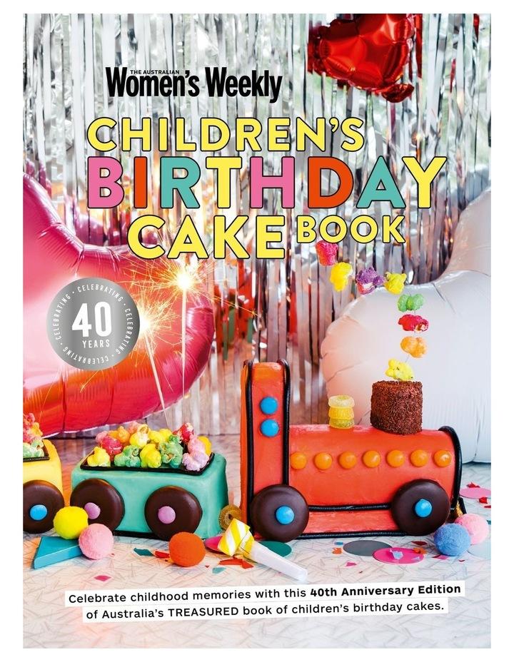 Children's Birthday Cake Book (Hardback) image 1