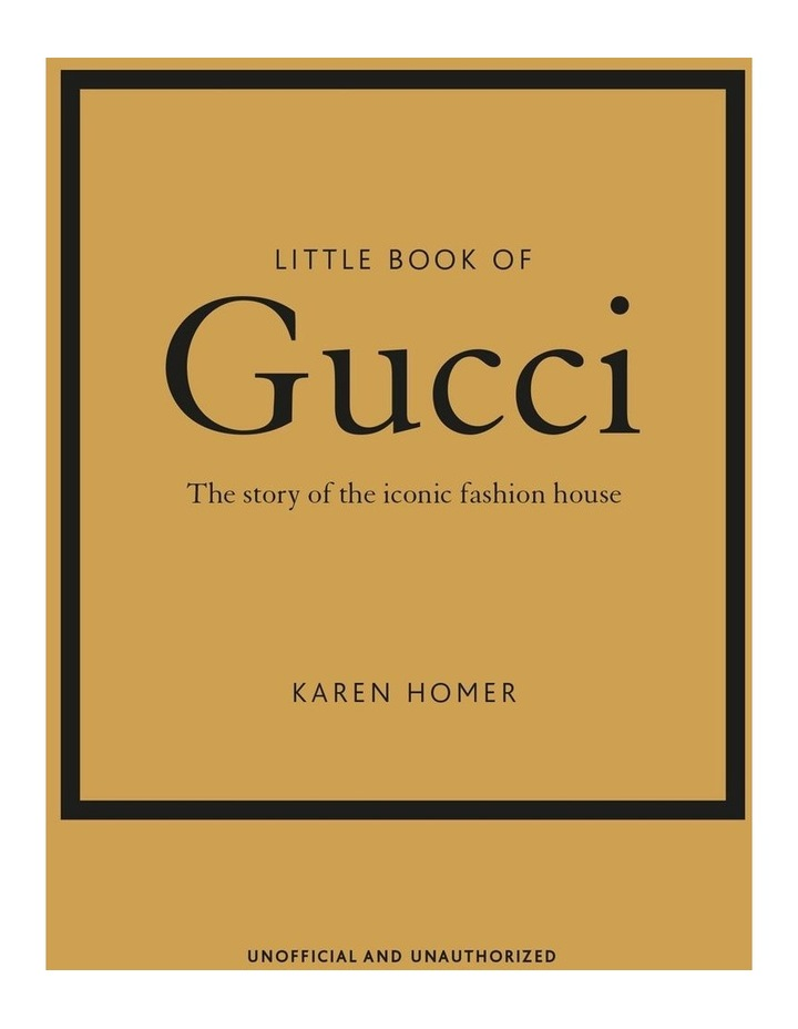 Little Book Of Gucci (Hardback) image 1
