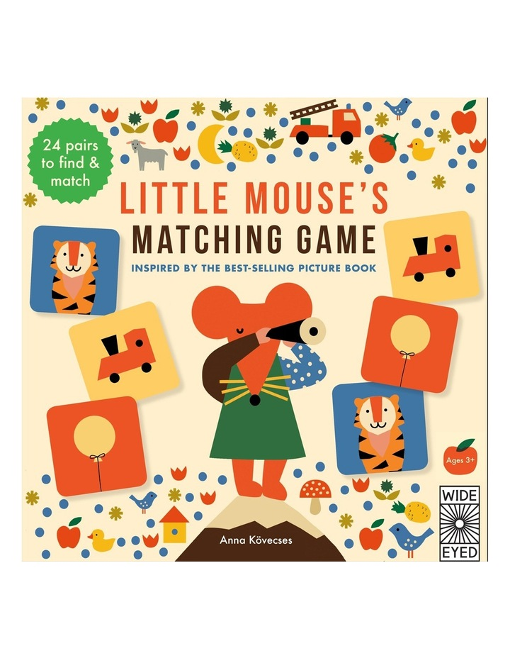 Little Mouse's Matching Game by Anna Kovecses (other) image 1