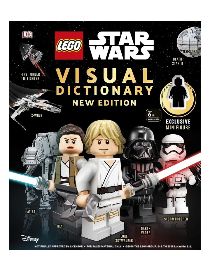 LEGO Star Wars Visual Dictionary New Edition image 1