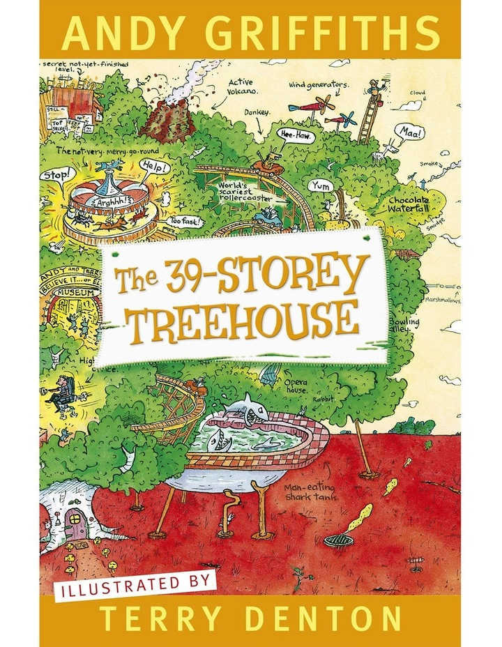 The 39-Storey Tree House written by Andy Griffths and illustrated by Terry Denton (paperback) image 2