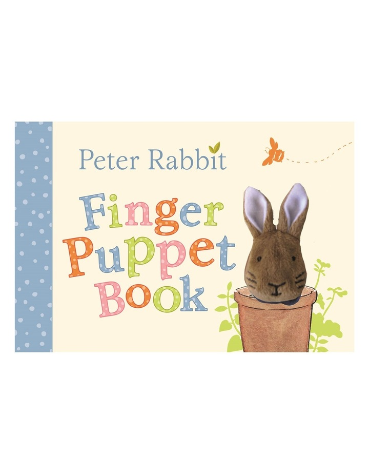 Peter Rabbit Finger Puppet Book (hardback) image 1