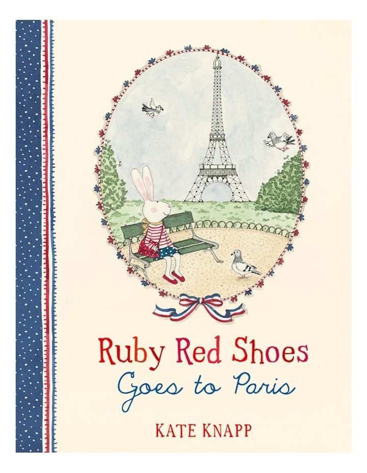 Ruby Red Shoes Goes To Paris image 1