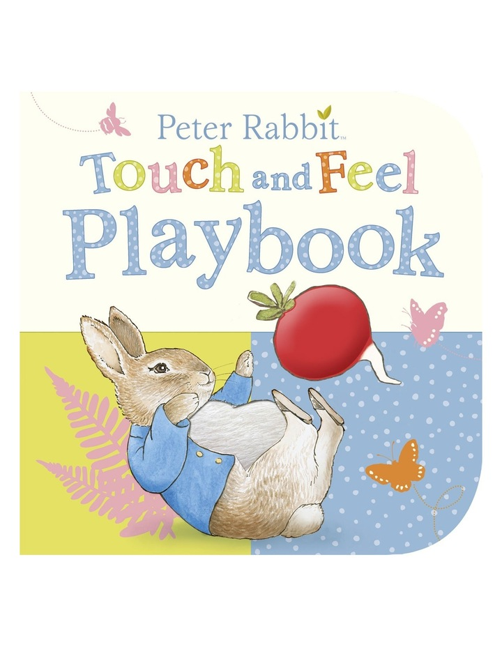 Peter Rabbit: Touch and Feel Playbook (hardback) image 1