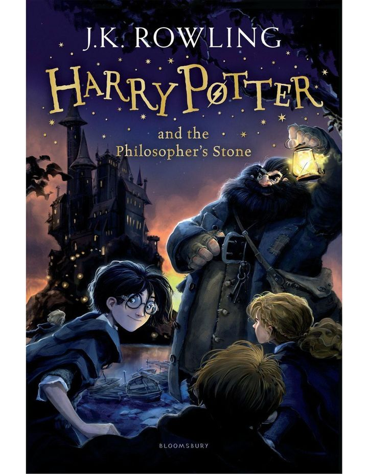 Harry Potter and the Philosopher's Stone by J. K. Rowling (paperback) image 1