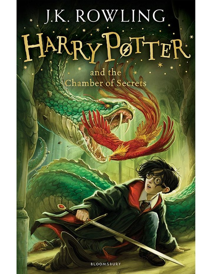 Harry Potter and the Chamber of Secrets by J. K. Rowling (paperback) image 1