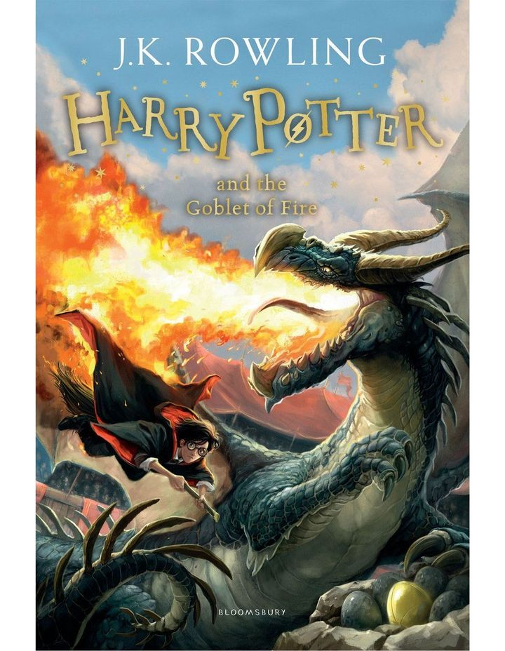 Harry Potter and the Goblet of Fire by J. K. Rowling (paperback) image 1