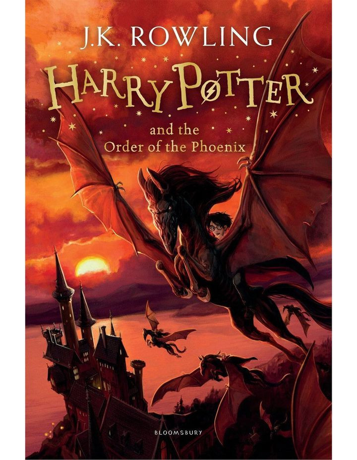 Harry Potter and the Order of the Phoenix by J. K. Rowling (paperback) image 1