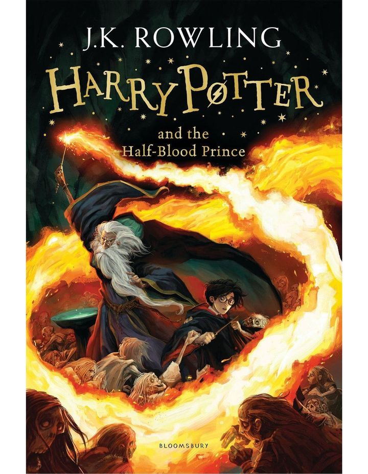 Harry Potter and the Half-Blood Prince by J. K. Rowling (paperback) image 1