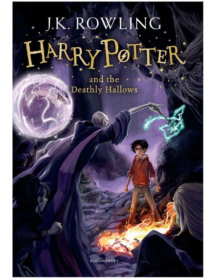Harry Potter and the Deathly Hallows by J. K. Rowling (paperback) image 1