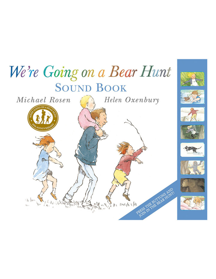 We're Going on a Bear Hunt Sound Book HB ROSEN image 1