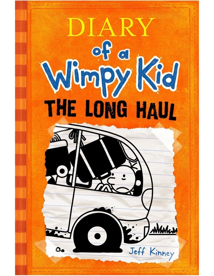 The Long Haul: Diary of a Wimpy Kid by Jeff Kinney (paperback) image 1