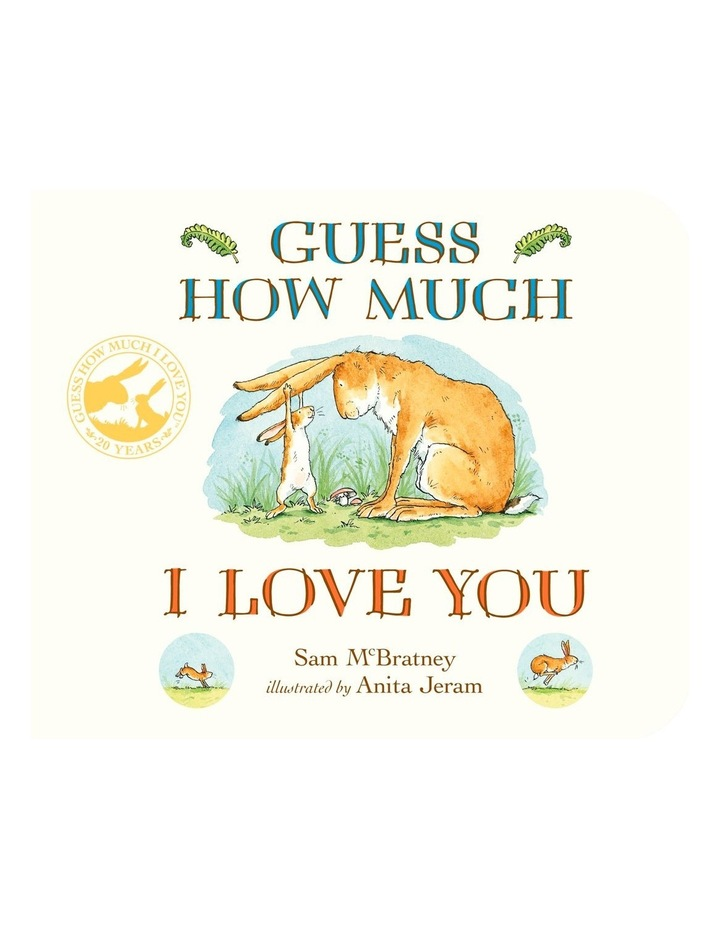 Guess How Much I Love You (Board Book) image 1