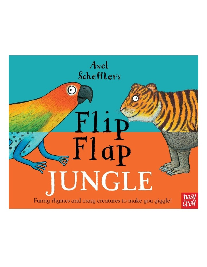 Axel Scheffler'S Flip Flap Jungle (Hardback) image 1