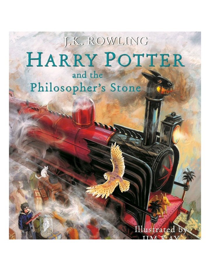 Harry Potter and the Philosopher's Stone Illustrated Edition (Hardback) image 1