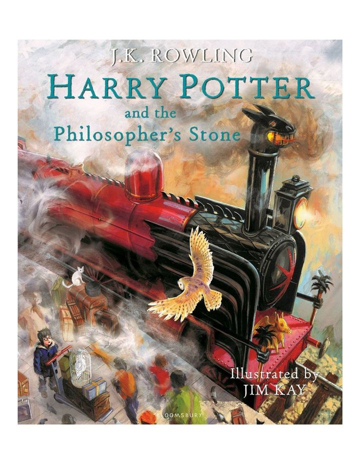 Harry Potter and the Philosopher's Stone: Illustrated Edition written by J.K. Rowling & illustrated by Jim Kay (hardback) image 1