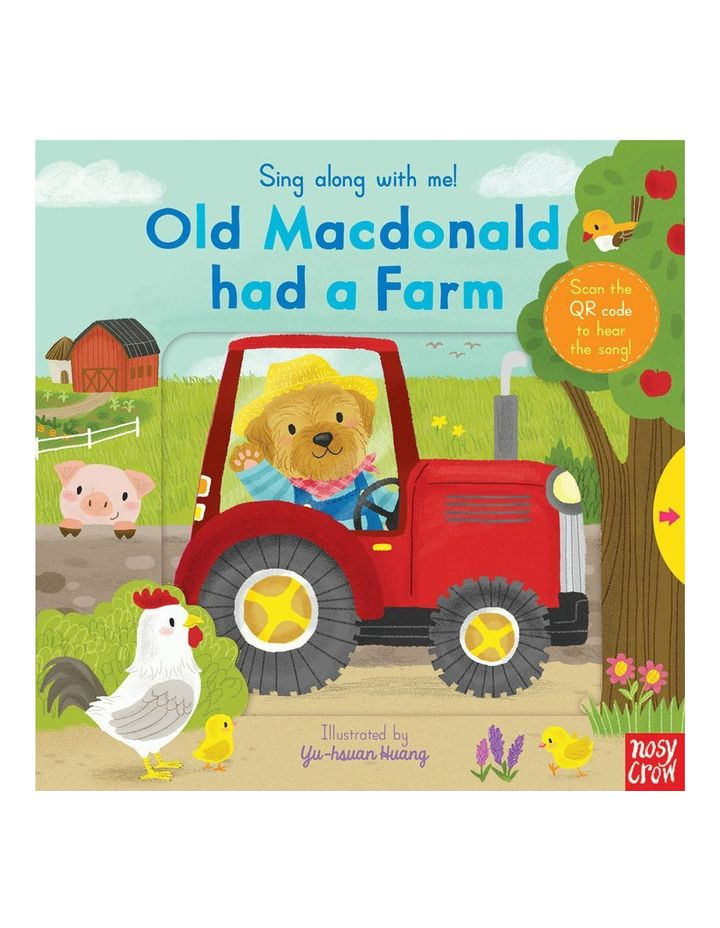 Sing along with me! Old Macdonald has a farm book illustrated by Yu-hsuan Huang (hardback) image 1