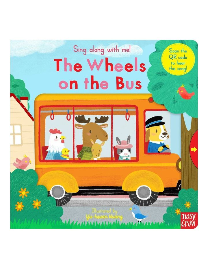 Sing along with me! The Wheels on the Bus book illustrated by Yu-hsuan Huang (hardback) image 1