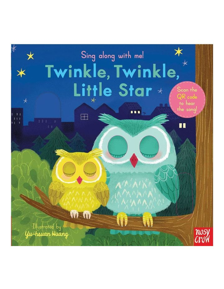 Sing along with me! Twinkle Twinkle book illustrated by Yu-hsuan Huang (hardback) image 1