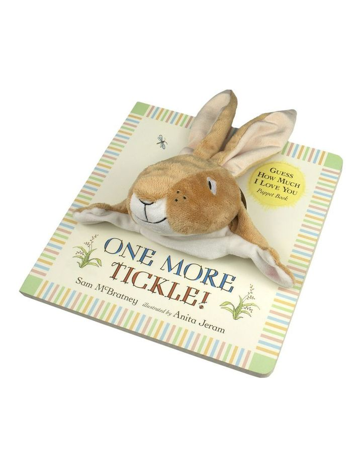 Guess How Much I Love You: One More Tickle! written by Sam McBratney & illustrated by Anita Jeram (hardback) image 1
